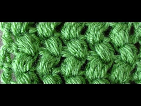 Crochet Stitches In Youtube : Crochet Puff Stitch - Puff Stitch - YouTube