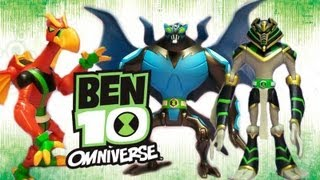 BEN 10 0MNIVERSE: SNARE-OH, BIG CHILL, DIAMONDHEAD, WATER