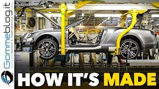 HOW Bentley Cars Are MADE - PRODUCTION Car Factory