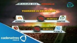 Próximos Partidos De La Jornada 12 En El Futbol Mexicano