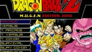 Dragon Ball Z M.U.G.E.N Edition 2010 By RistaR87 (with
