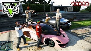 GTA PIGGY HUNT!! Kill The Piggy!! GTA Landed IT Crew