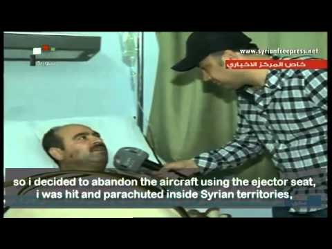 Syrian pilot interview: My aircraft was shot down by Turkish aircraft while within Syrian airspace