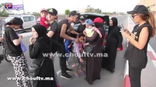 بالفيديو..مبادرة رائعة من أبناء مدينة مراكش اتجاه لاجئين سوريين في عيد الفطر |