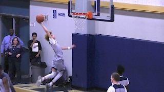 LaMelo Ball Self-Oop Dunk in Warmups! | First Successful Dunk On Camera!