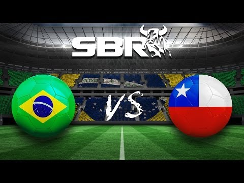 Brazil vs Chile 28.06.14 | 2014 World Cup Round of 16
