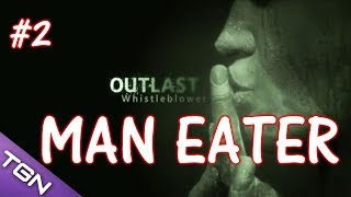 Outlast DLC Whistleblower #2- MAN EATER! w/Facecam (PC live ...