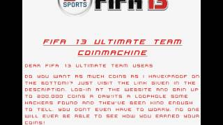 Fifa 14 Ultimate Team Hack (PS3 ONLY)