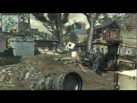 48-25 GAMEPLAY MW3 SNIPER L118A DOMINATION (RUSH !!)