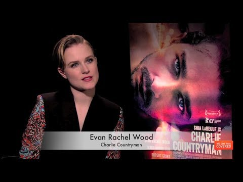 Charlie Countryman Interview With Evan Rachel Wood [HD]