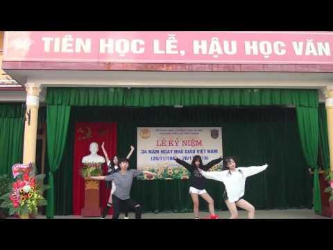 Nhảy hiện đại chào mừng Ngày nhà giáo Việt Nam (20-11-2016) - trường THPT Lê Văn Thiêm