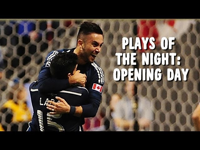 Plays of the Night: Sebastian Fernandez, DeAndre Yedlin dominate