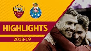 NICOLÒ ZANIOLO! | Roma 2-1 Porto, UCL Highlights 2018-19