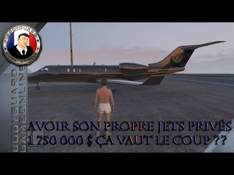 GTA 5 Online Avoir son propre Jets privés à 1 750 000 $ ça vaut le coup ??