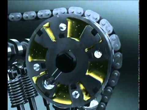 3D модель работы двигателя 2ZR-FE