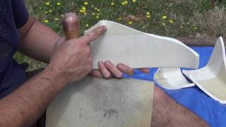 """Knapping Toilet Tank """"Johnstone"""" and Grass Hut Update"""