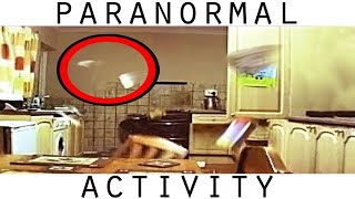 Poltergeist Activity Caught On Video. REAL Ghost Caught On