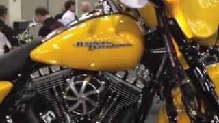 New 2013 Harley-Davidson Street Glide FLHX Chrome Yellow W