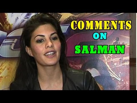 Jacqueline Fernandez comments on Salman Khans arrest and marriage