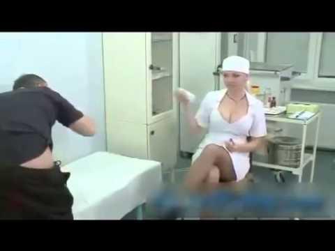 Cười vỡ bụng với nữ y tá Nga ngực cực khủng