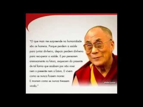 Mensagem de Dalai Lama.