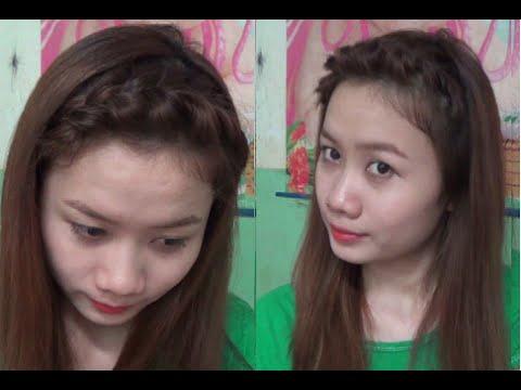 Hairstyles - Tết Tóc Mái Đơn Giản Mà Đẹp Dịu Dàng