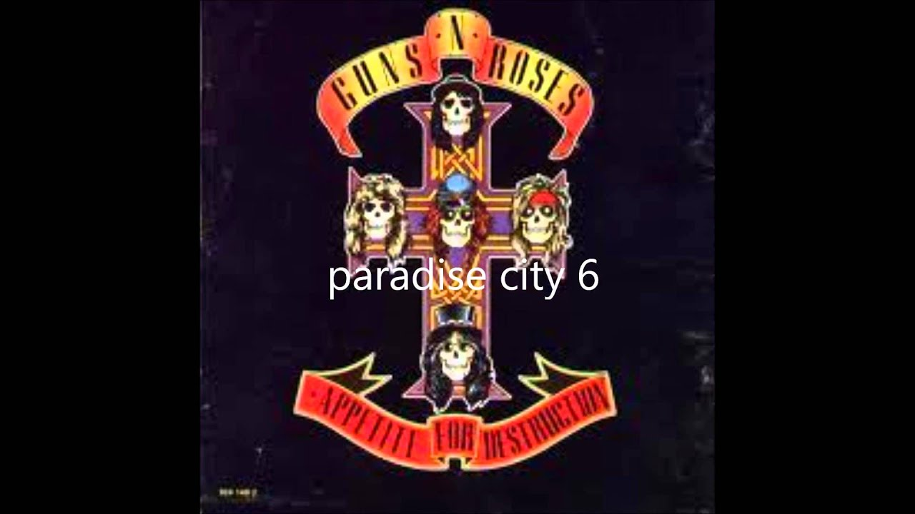 guns n roses first album