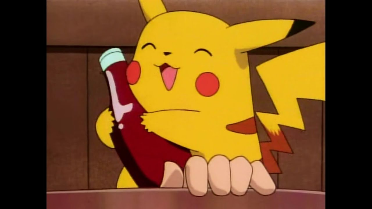 Pokemon: Pikachu LOVES Ketchup (Showdown at Dark C - YouTube