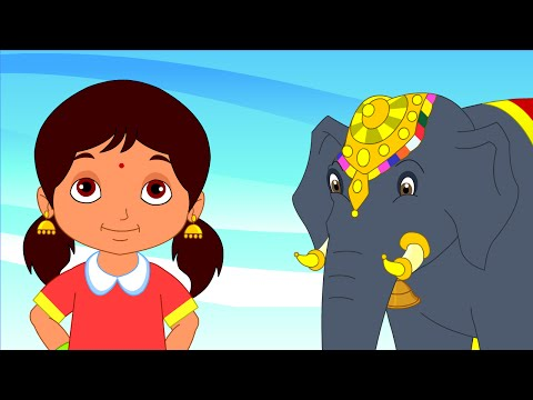 Yannai Yannai - Children Tamil Nursery Rhymes Cartoon Songs Chellame Chellam Volume 2