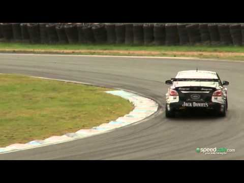 RAW FOOTAGE: 2013 V8 Supercars pre-season test day
