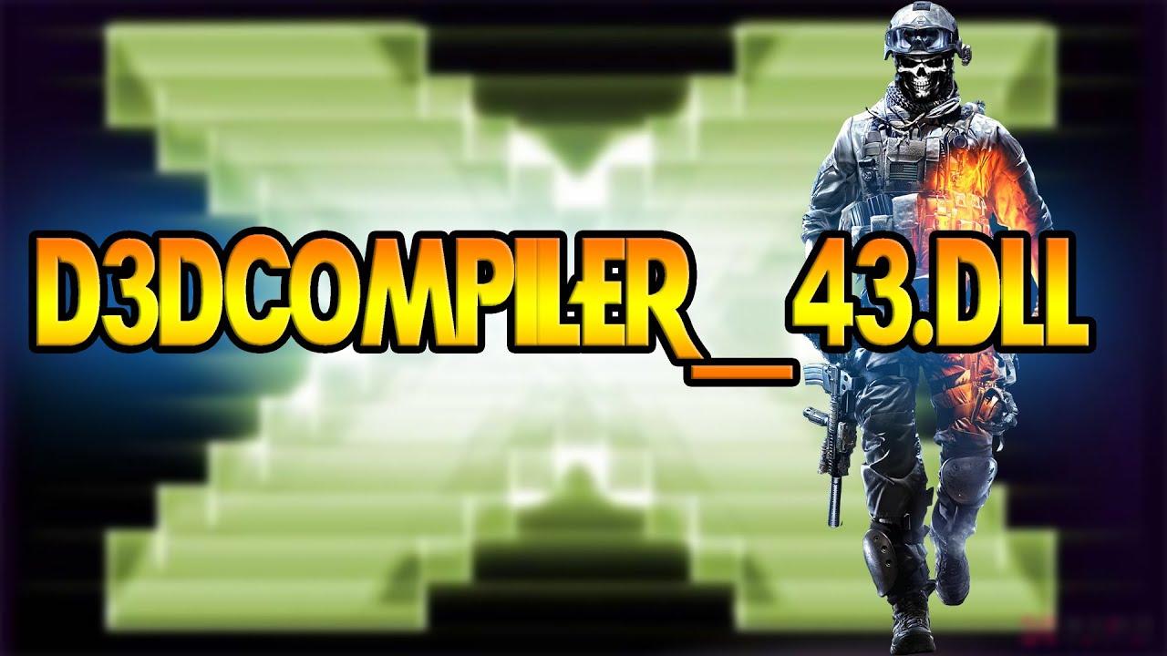 descargar d3dcompiler 43.dll sniper elite v2