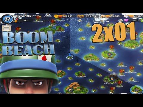 Atacando con tanques por error | Conquistando los Mares 2x01 | Boom Beach [Español]