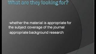 Understanding Scholarly Journal Articles