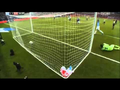 Yaya Toure Goal   Capital One Cup Final 2014   Man City vs Sunderland 02 03 2014