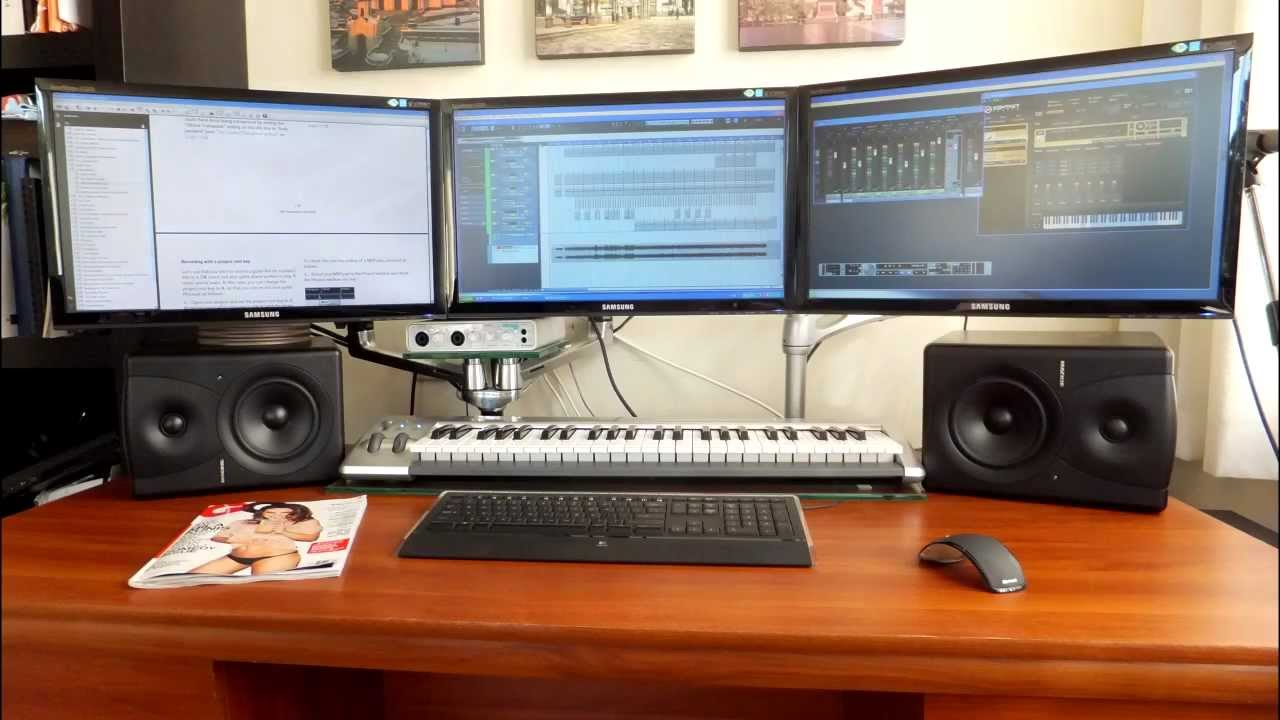 Craigslist Account Setup >> HOME RECORDING STUDIO complete setup - YouTube