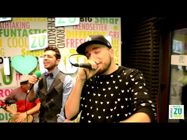 Shift, Marius Moga si Vizi Imre - Sus pe toc (Live la Radio ZU)