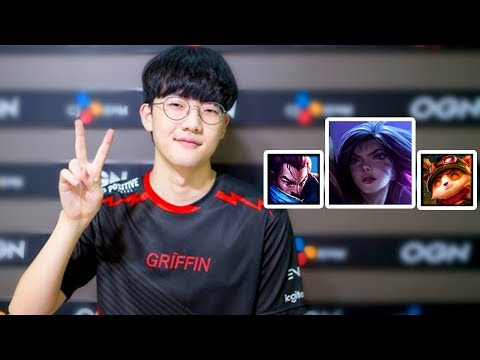 Griffin VIPER Popping Off in LCK Summer 2018 (The New Faker?)