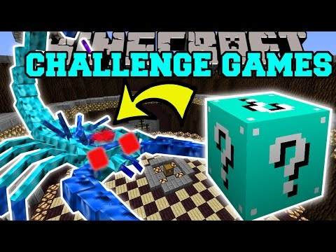 Minecraft: ARCTIC SCORPION CHALLENGE GAMES - Lucky Block Mod - Modded Mini-Game