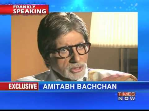 Amitabh Bachchan on Frankly Speaking with Arnab Goswami (Part 1of 4)