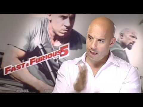 Intervista a Vin Diesel protagonista di Fast & Furious 5