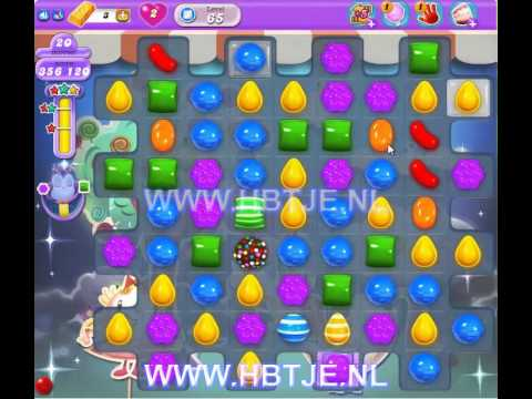 Candy Crush Saga Dreamworld level 65