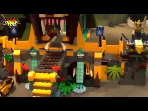 Đồ chơi trẻ em - Lego ChiMa Ngôi đền Sư Tử 70010 |takecare.vn