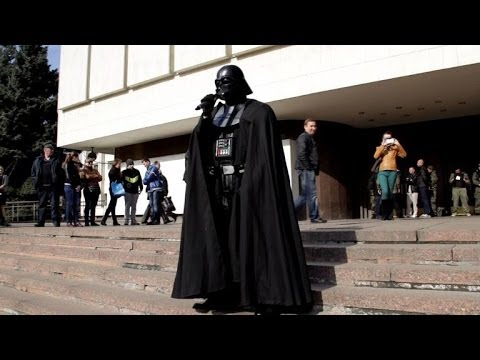 Ukraine dashes Darth Vader's presidential hopes