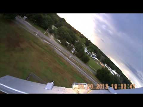MikeysRC YC-14 twin prop engine failure crash landing