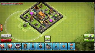 Clash Of Clans Beste Aufstellung Mit Rathaus Level 5 Best