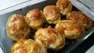 Deliciosas patatas rellenas de atún