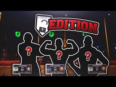 THE MOST HATED LOCKDOWN DEFENDERS OF ALL TIME! 😱 THE SPAM  SQUARE TRIO AT THE PARK!  NBA 2K17