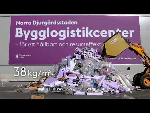Stockholm Royal Seaport Building Logistics Centre (English version with Polish subtitles)