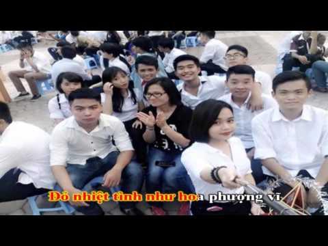 Karaoke bài ca người giáo viên nhân dân full 720P