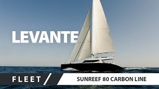 Sailing Catamaran Superyacht Sunreef 80 Carbon Line